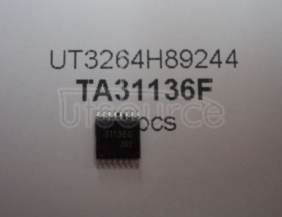 TA31136F FM IF DETECTOR IC FOR CORDLESS TELEPHONE