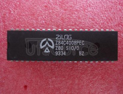 Z84C4008PEC SERIAL   INPUT/OUTPUT   CONTROLLER