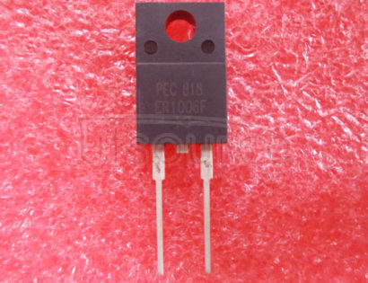 ER1006F 10A   ISOLATION   SUPER-FAST   GLASS   PASSIVATED   RECTIFIER