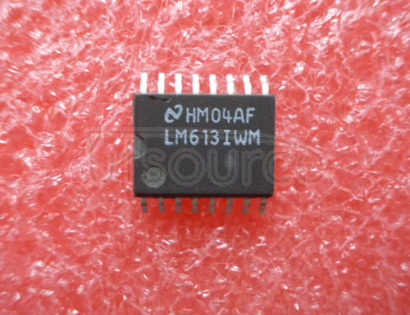 LM613IWM Dual Operational Amplifiers, Dual Comparators, and Adjustable Reference