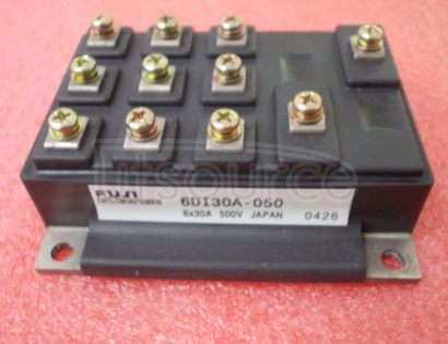 6DI30A-050 TRANSISTOR | BJT POWER MODULE | 3-PH BRIDGE | DARLINGTON | 600V VBRCEO | 30A IC