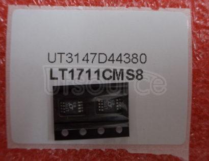 LT1711CMS8 Single/Dual 4.5ns, 3V/5V, Rail-to-Rail Comparators