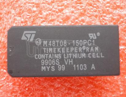 M48T08-150PCI 64 Kbit 8Kb x 8 TIMEKEEPER SRAM
