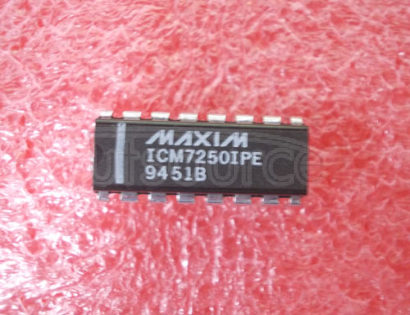 ICM7250IPE Fixed And Programmable Timer/Counters