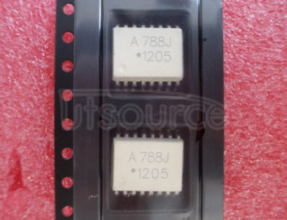 HCPL788J Isolation Amplifier with Short Circuit and Overload Detection