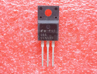 SSS10N60B 600V N-Channel B-FET / Substitute of SSS10N60A<br/> <br/> No of Pins: 3<br/> Container: Rail