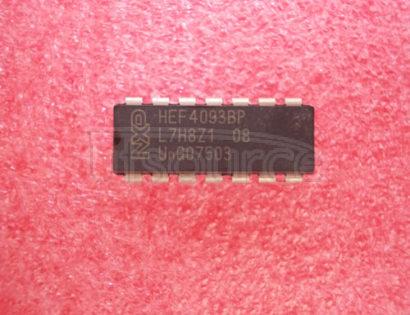 HEF4093BP Quadruple 2-input NAND Schmitt trigger