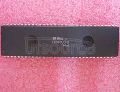HD68000P8 32-Bit Microprocessor