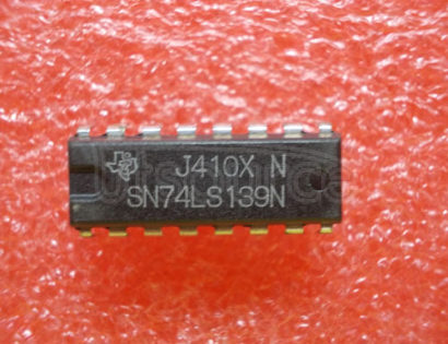 74LS139 LOW POWER SCHOTTKY