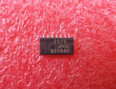 NJM2279 3-Input 2-Output Video Switch75Ω32