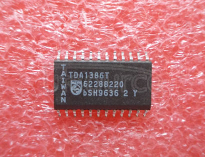 TDA1386T Noise shaping filter DAC