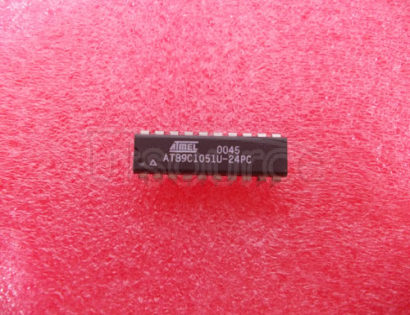 AT89C1051U-24PC 8-Bit Microcontroller with 1K Bytes Flash