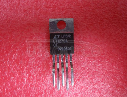LT1270ACT 8A and 10A High Efficiency Switching Regulators