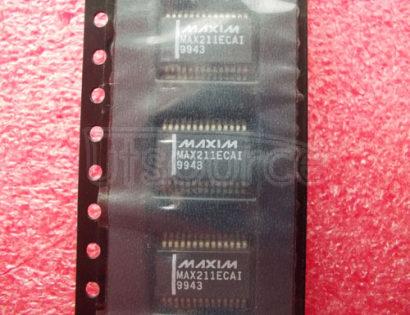 MAX211ECAI 【15kV ESD-Protected, +5V RS-232 Transceivers