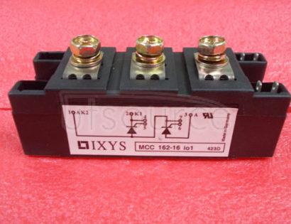 MCC162-16IO1 Thyristor Modules Thyristor/Diode Modules