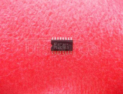 74AC163SJ Synchronous   Presettable   Binary   Counter