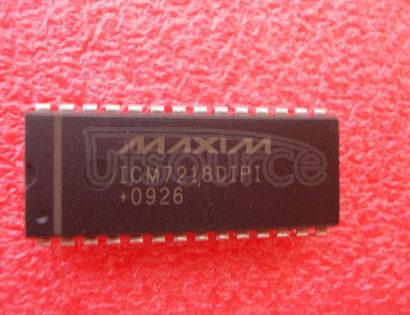 ICM7218DIPI 8 Digit LED Display Driver