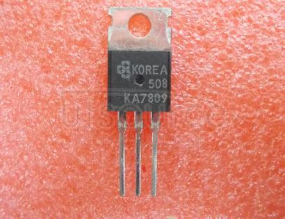 KA7809 3-Terminal 1A Positive Voltage Regulator