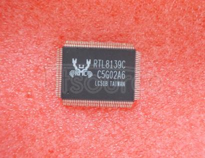 RTL8139C REALTEK 3.3V SINGLE CHIP FAST ETHERNET CONTROLLER WITH POWER MANAGEMENT