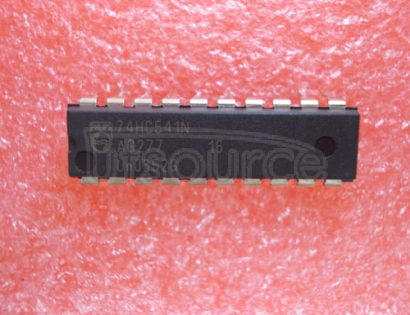74HC541N Octal buffer/line driver; 3-state - Description: Octal Buffer/Line Driver; Non-Inverting 3-State ; Logic switching levels: CMOS ; Number of pins: 20 ; Output drive capability: +/- 7.8 mA ; Power dissipation considerations: Low Power or Battery Applications ; Propagation delay: 10@5V ns; Voltage: 2.0-6.0 V