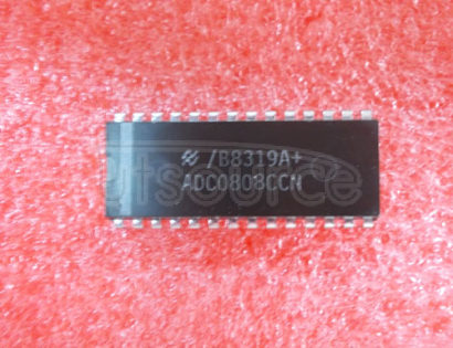 ADC0808CCN 8-Bit uP Compatible A/D Converters with 8-Channel Multiplexer