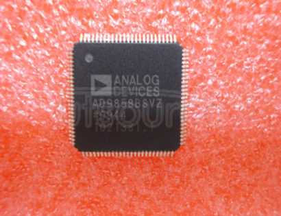 AD9858BSVZ 1 GSPS Direct Digital Synthesizer<br/> Package: TQFP-EDw/ 6.5mm exposed pad<br/> No of Pins: 100<br/> Temperature Range: Industrial