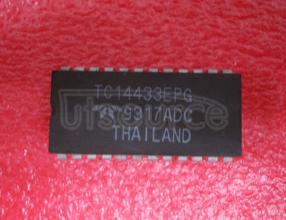 TC14433EPG 3-1/2 Digit, Analog-to-Digital Converter