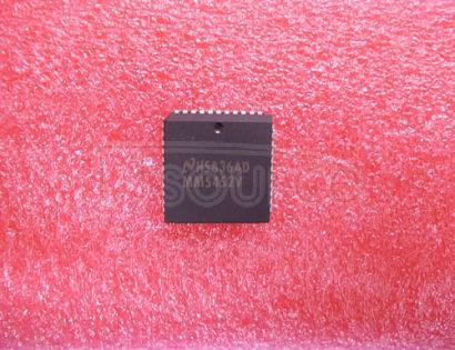 MM5452V Liquid Crystal Display Drivers