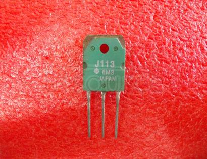 J113 SINGLE N-CHANNEL JFET