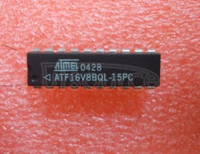 ATF16V8BQL-15PC High- Performance Flash PLD