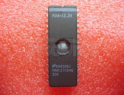 NMC27C64Q200 IC-64K CMOS EPROM