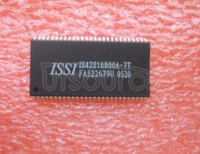 IS42S16800A-7T 16Meg x 8, 8Meg x16 & 4Meg x 32 128-MBIT SYNCHRONOUS DRAM