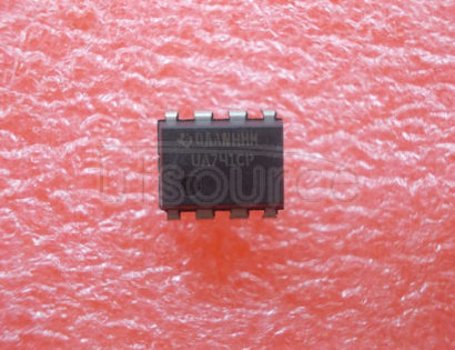 UA741CP General-Purpose Operational Amplifier 8-PDIP 0 to 70