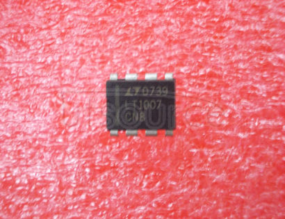 LT1007CN8 Low Noise, High Speed Precision Operational Amplifiers