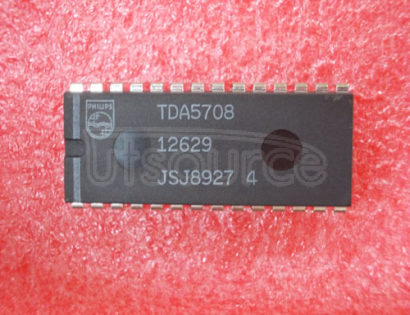 TDA5708 PHOTO DIODE SIGNAL PROCESSOR FOR COMPACT DISC PLAYERS