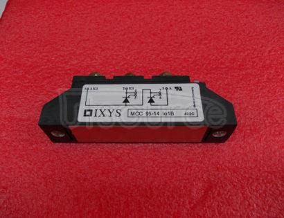 MCC95-14I01B Thyristor   Modules   Thyristor/Diode   Modules
