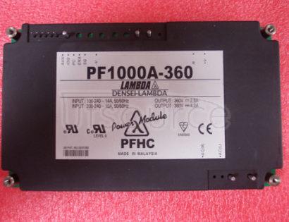 PF1000A-360 PFHC module 500W, 1000W