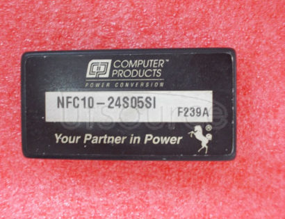 NFC10-24S05SI Single   and   dual   output  10  Watt   Wide   input   DC/DC   converters