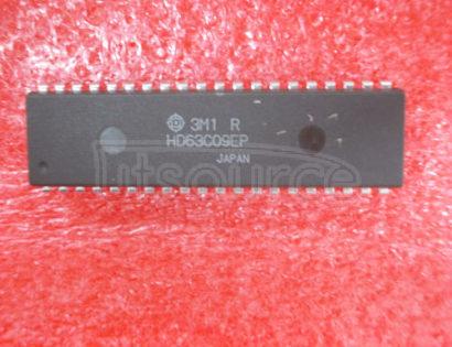 HD63C09EP 8-Bit Microprocessor