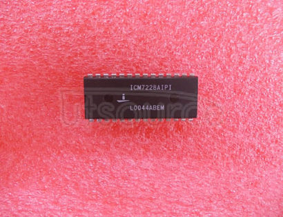 ICM7228AIPI 8-Digit, Multiplexed, LED Decoder Driver