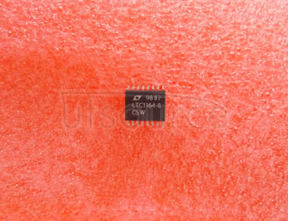 LTC1164-8CSW Ultraselective, Low Power 8th Order Elliptic Bandpass Filter with Adjustable Gain