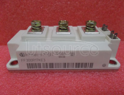 FF300R17KE3 62mm C-series module with trench/fieldstop IGBT3 and EmCon3 diode