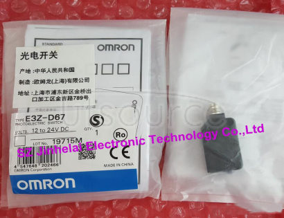 New and original E3Z-D67  OMRON  Photoelectric switch   Photoelectric sensor    12-24VDC