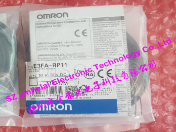 New and original  E3FA-RP11  OMRON Photoelectric sensor  10-30VDC   2M