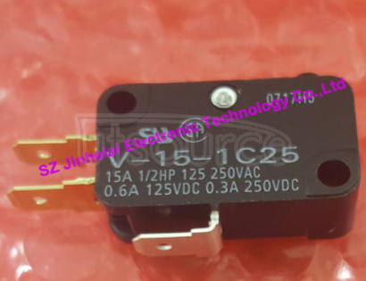 V-15-1C25  New and original OMRON   Basic switch   Micro switch Made in Indonesia