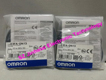 New and original E3FA-DN13  OMRON Photoelectric switch 10-30VDC 2M