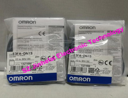 New and original E3FA-DN13  OMRON Photoelectric switch 10-30VDC 2M MADE IN CHINA