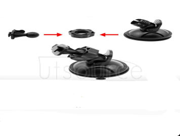 Vehicle traveling data recorder ameer suction cup holder windshield bracket before rotate 360 degrees