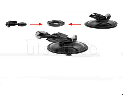 Vehicle traveling data recorder ameer suction cup holder windshield bracket before rotate 360 degrees Description: Suction cup design make the holder attach to a wide range of surface. This is non-oem product.