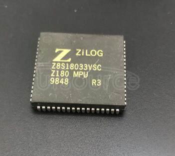 Z8S18033VSC IC MPU Z180 33MHZ 68PLCC